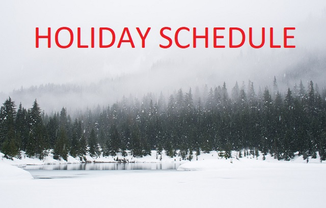 Sunbelt Finance Holiday-Schedule Holiday Hours - December 23-26 Featured